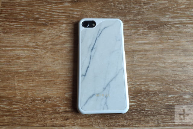 Mikol Carrara White Marble Case