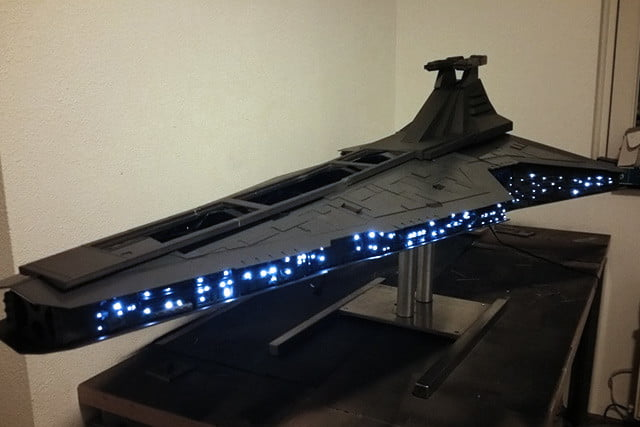 if the force wasnt awake it is now star destroyer pc mod quite a show mod05