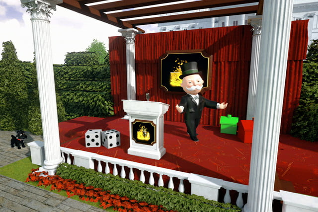 hasbro uses live animation of mr monopoly facebook  2