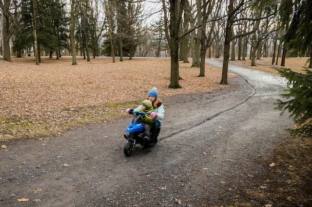 The Naseka Electric Snowmobile is Built for Kids But You'll