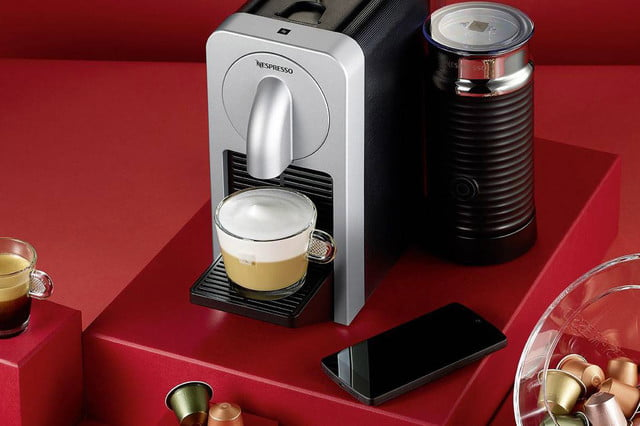 nespresso bluetooth coffee machine prodigio