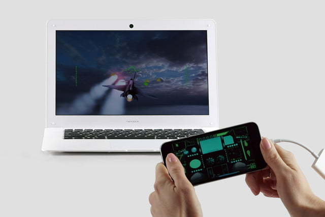 nexdock tablet or smartphone screen expander iphone