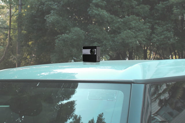nico360 vr camera on car