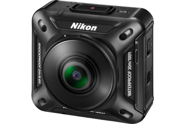 nikon keymission 170 80 action cam keymission360 front left