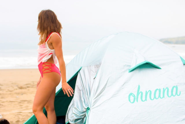 New crowdfunding projects - Ohnana heat-shielding festival tent
