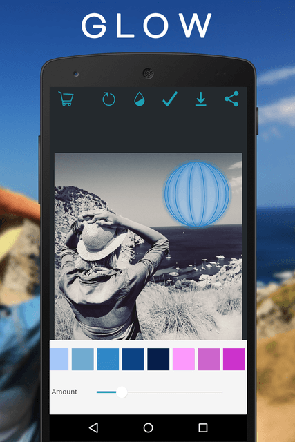 overam uses geometry to reshape photo editing on android glow