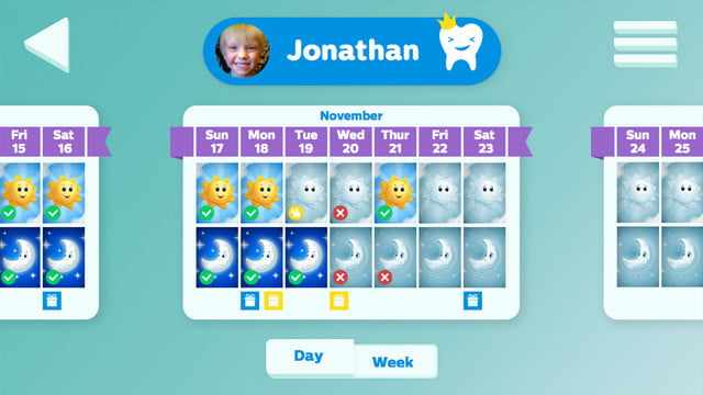 philips sonicare bluetooth toothbrush has a coaching app for kids screen 3