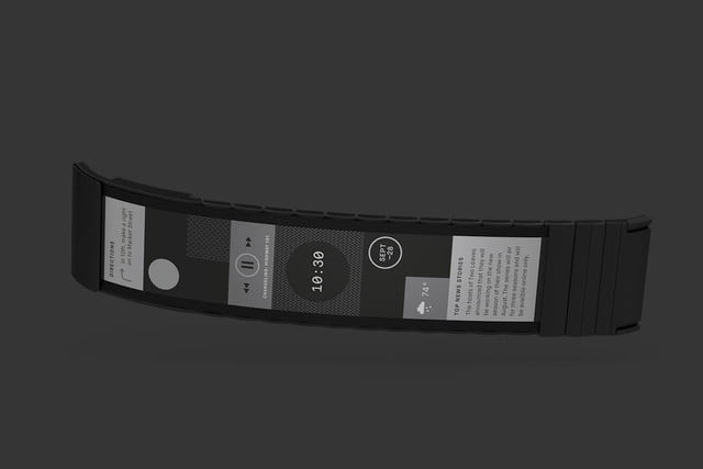 wove wearable completely flexible e ink screen display polyera 0020