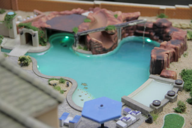 first 3d printed pool model 3