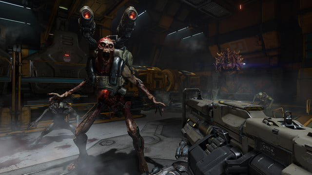 doom reboot hits retail in may revenant fight 1437988263