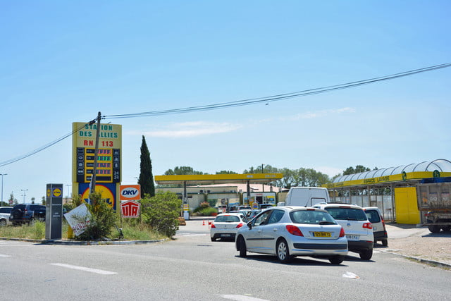 France fuel shortage