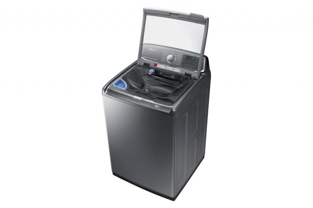 samsungs activewash is a washer with sink samsung wa52j8700ap 012 r perspective open down inox