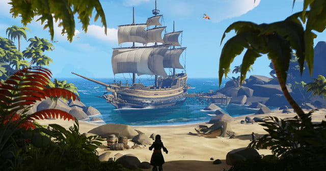 most anticipated 2018 games sea of thieves