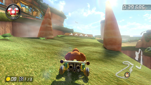 mario kart 8 shortcuts shy guy falls 2