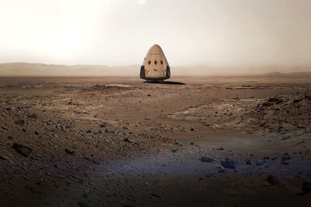 spacex announces mars mission for 2018 red dragon 002