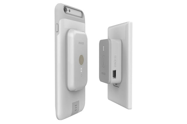 stacked wireless charging iphone charger white outlet back