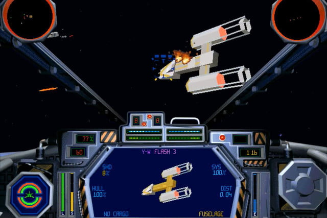 10 game franchises that might work in vr star wars  tie fighter