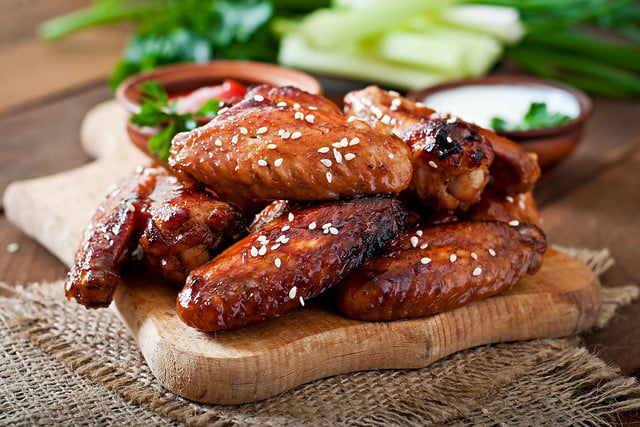 lab grown chicken memphis meats teriyaki wings