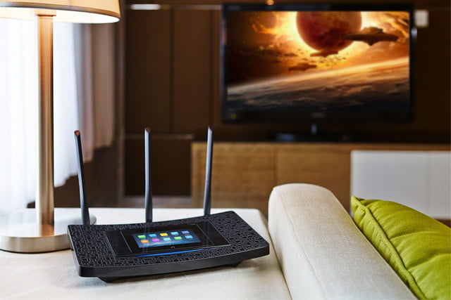 tp link brings user friendly touchscreen latest router touchp504