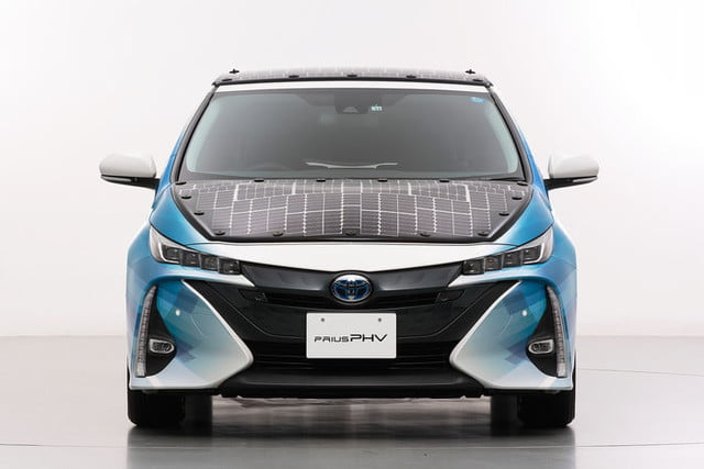 toyota has covered a prius in solar cells to add 27 miles its range 6