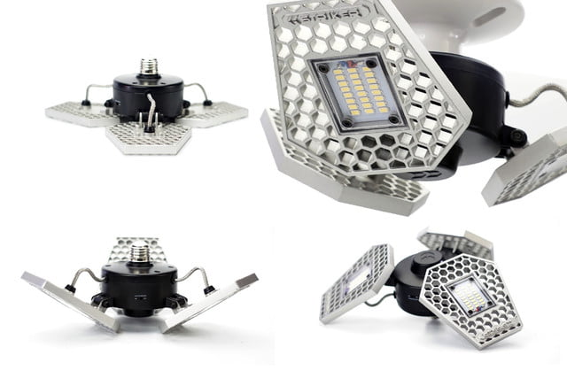 led garage light kickstarter trilight views