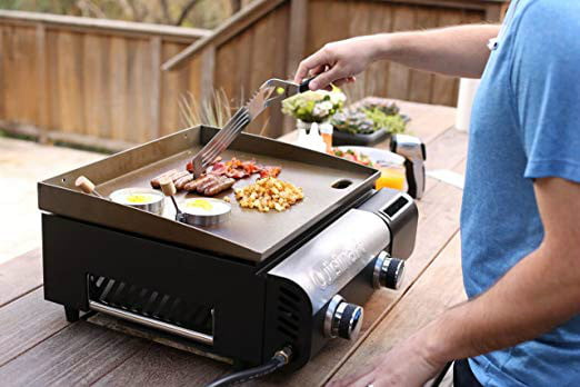 amazon drops prices for cuisinart grills smokers and bbq accessories uisinart cgg 501 gourmet gas griddle 3