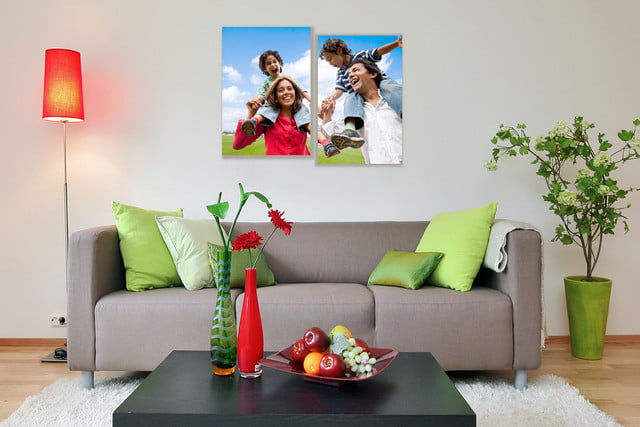 last minute gifts wrapped canvas personalized photo prints
