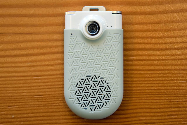 zagg now cam is a pocket camcorder that doubles as mini bluetooth speaker 8605
