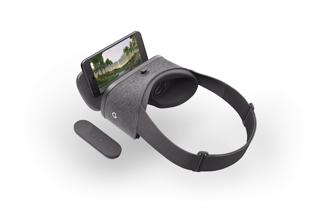 google lanza daydream view con mas apps compatibles headset and phone