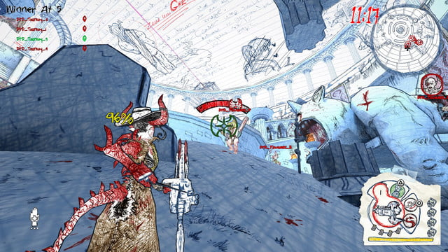 drawn to death hands on review screenshot 3