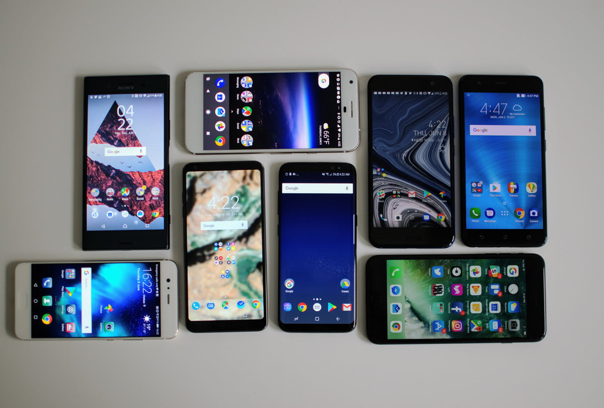 Compare 5 phones at a time