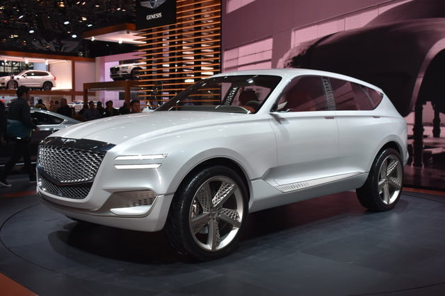 Genesis GV80 Hydrogen Fuel Cell Concept