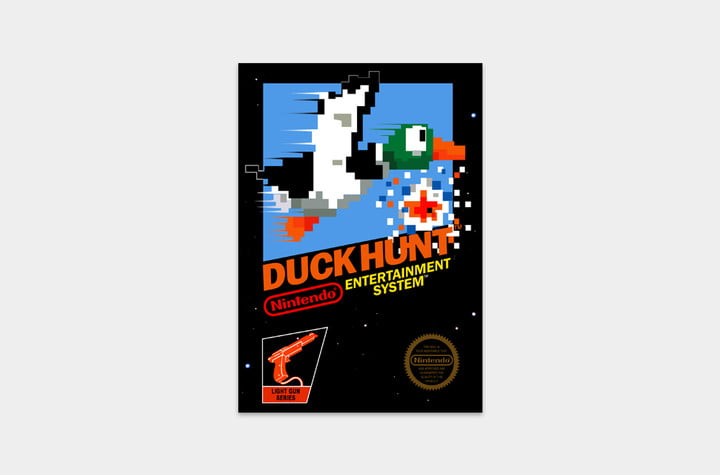 best nes games ever duck hunt cover