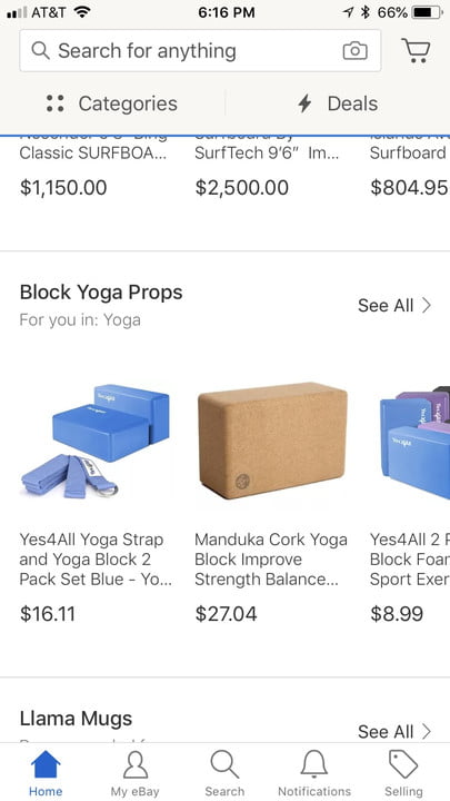 ebay launches interests feature on mobile app 1