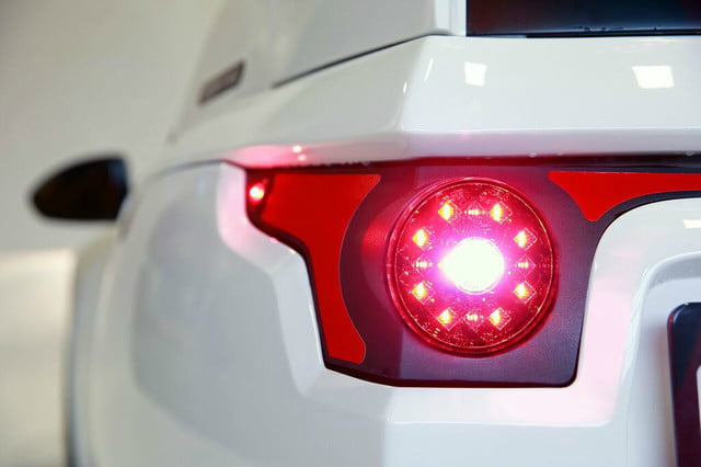 electra meccanica solo unveiled brake light