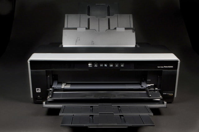 Epson R2000 front open