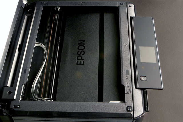 EPSON XP 610 scanner bed