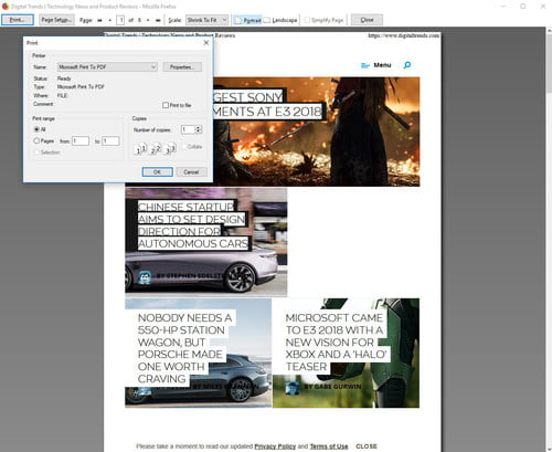 How to Save a Webpage as a PDF in Chrome, Edge, Safari and