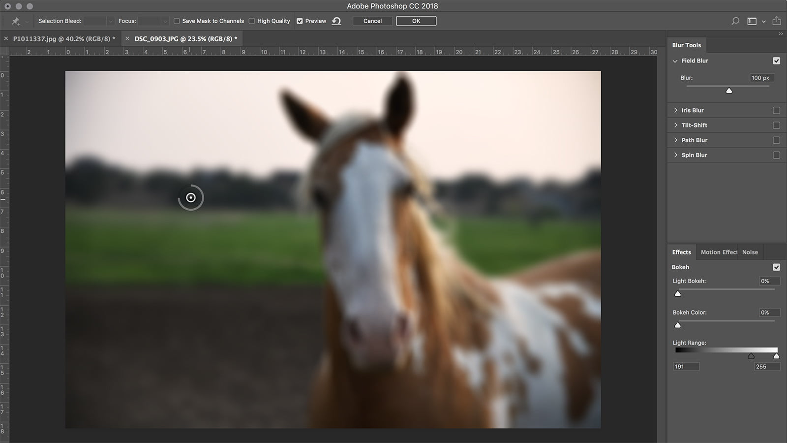 How To Blur A Background In Photoshop Firstpin