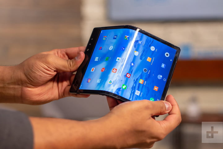 Image result for Samsung Starts Working on a Galaxy Tab That Folds Into a Passport