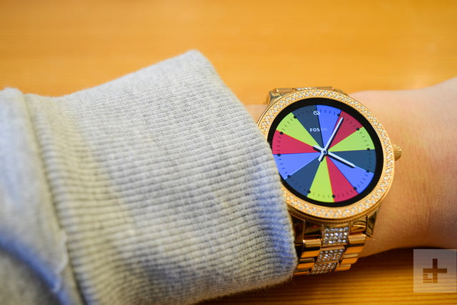 Fossil Q Venture review wheel face