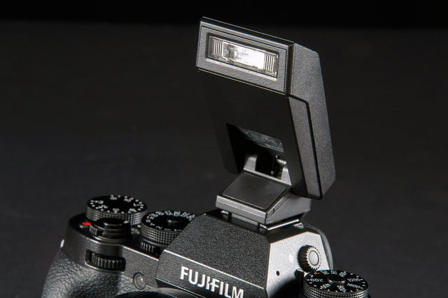 Fujifilm X-T1 camera flash