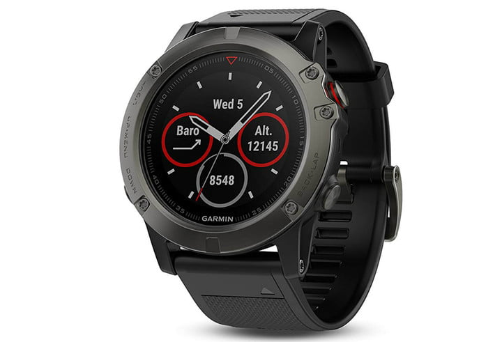 amazon slashes prices on garmin fenix 5 smartwatches for fathers day 5x sapphire with black band 1