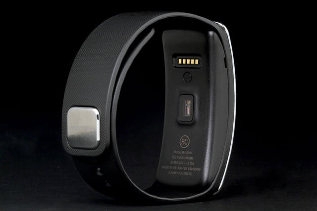 Gear Fit Watch back angle