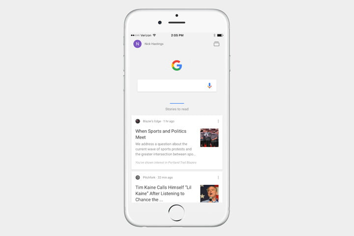 how to get to search chrome app history