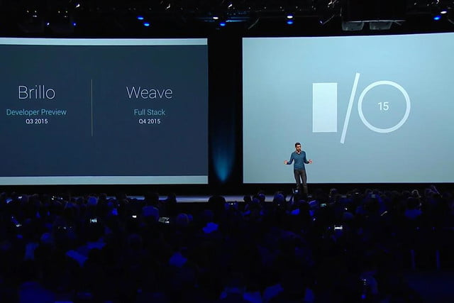 googles brillo and weave are its iot offerings google io 2015 2