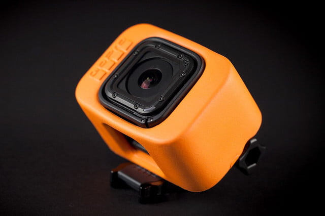 GoPro Hero 4 session hands on top angle