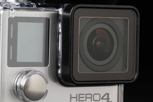 GoPro Hero4 Silver viewfinder