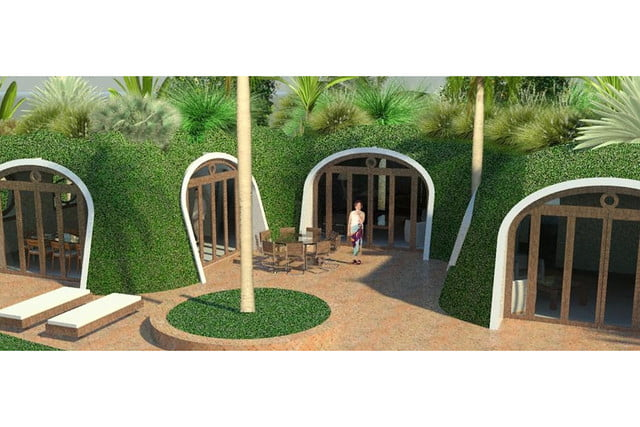 green magic homes are prefab houses covered in plants 0030