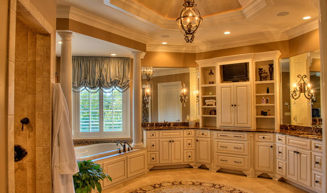 houses with amazing indoor slides greenville estate master bath